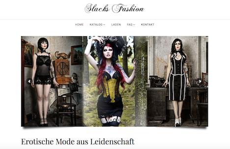 Slacks Fashion Homepage