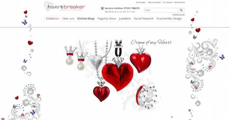 heartbreaker schmuck online