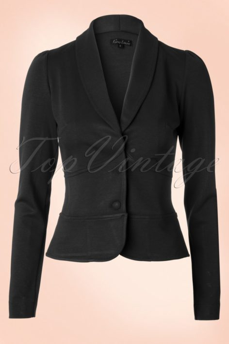 Smoking Jacket Milano in Black