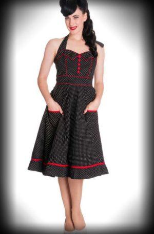 Polkadot Kleid Vanity von Rockabilly Rules