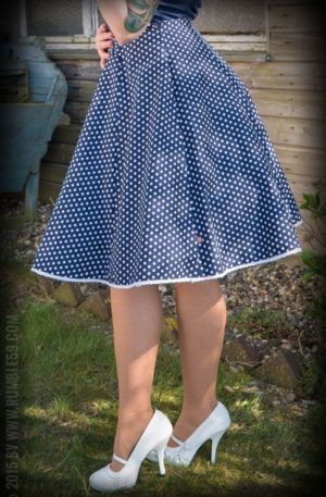 Rumble59 Ladies – Tellerrock – Sweet Polkadots von Rockabilly Rules