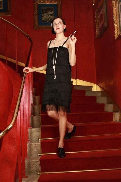 20er Charleston Kleid Gatsby Flapper