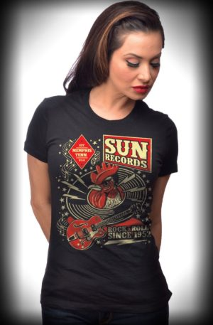 Steady Ladies T-Shirt – Sun Records Hop von Rockabilly Rules
