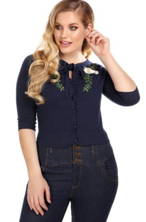 Collectif Cardigan Charlene Camelia von Rockabilly Rules