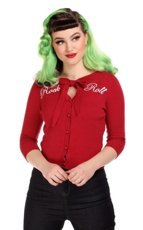 Collectif Cardigan Charlene Rock and Roll von Rockabilly Rules
