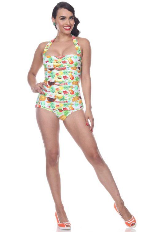 Esther Williams Badeanzug Sweetie Classic | Süßigkeiten von Rockabilly Rules