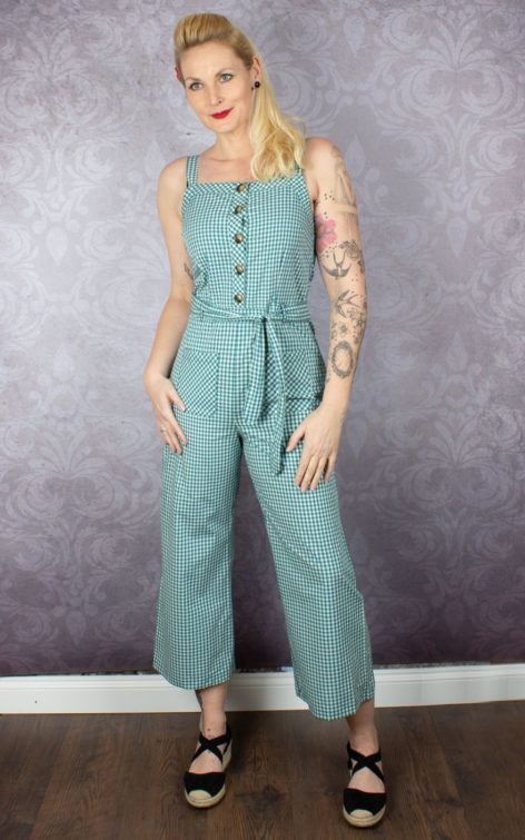King Louie Overall Jumpsuit Beth Vichy von Rockabilly Rules