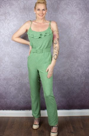 King Louie Overall Jumpsuit Viola Mini-Me von Rockabilly Rules
