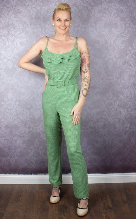 King Louie Overall Jumpsuit Viola Mini-Me von Rockabilly Rules