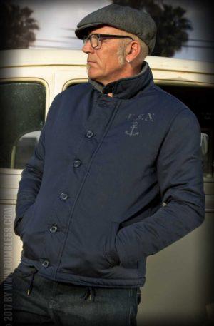 Rumble59 – Deck Jacket – navy von Rockabilly Rules