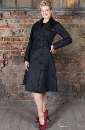 Rumble59 – Ladies Trenchcoat – Wild Inside von Rockabilly Rules