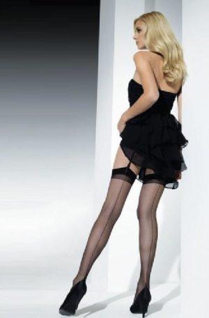 40s Berlin seamed stockings black nylon