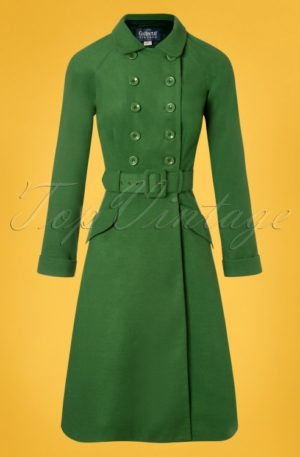 50s Addy Coat in Green