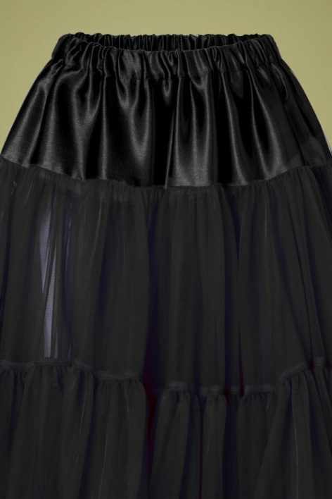 50s Arly Petticoat in Black