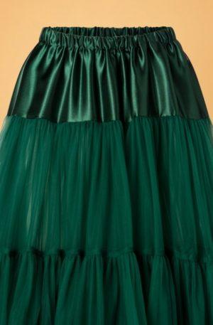 50s Arly Petticoat in Dark Green