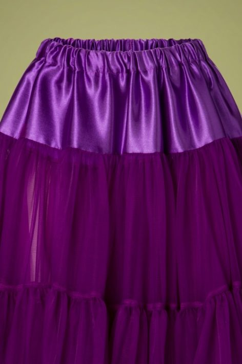 50s Arly Petticoat in Purple