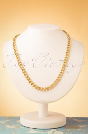 50s Elaine Necklace in Gold