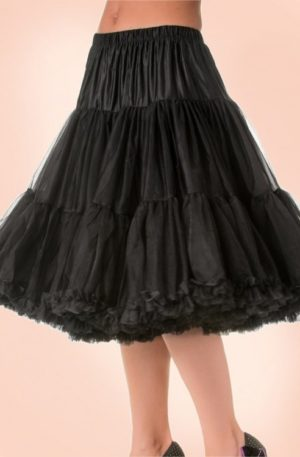 50s Lola Lifeforms Petticoat in Black