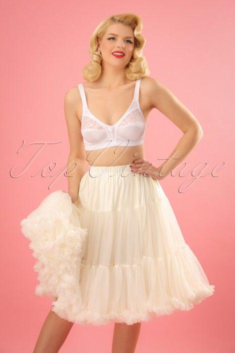 50s Lola Lifeforms Petticoat in Ivory