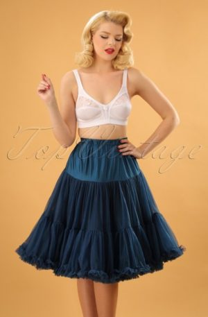50s Lola Lifeforms Petticoat in Navy