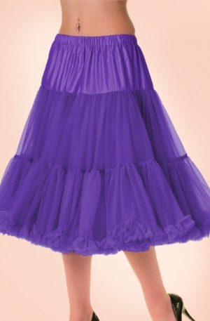 50s Lola Lifeforms Petticoat in Plum