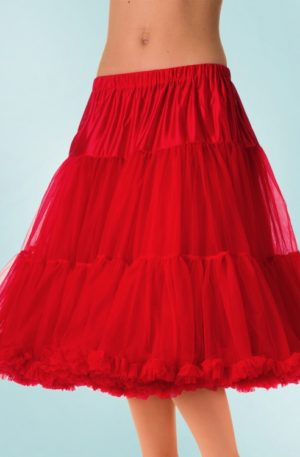 50s Lola Lifeforms Petticoat in Red
