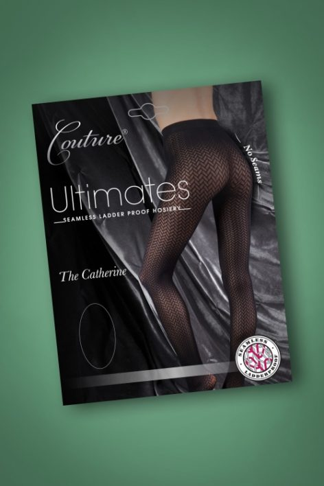 50s Ultimates Catherine Tights in Black