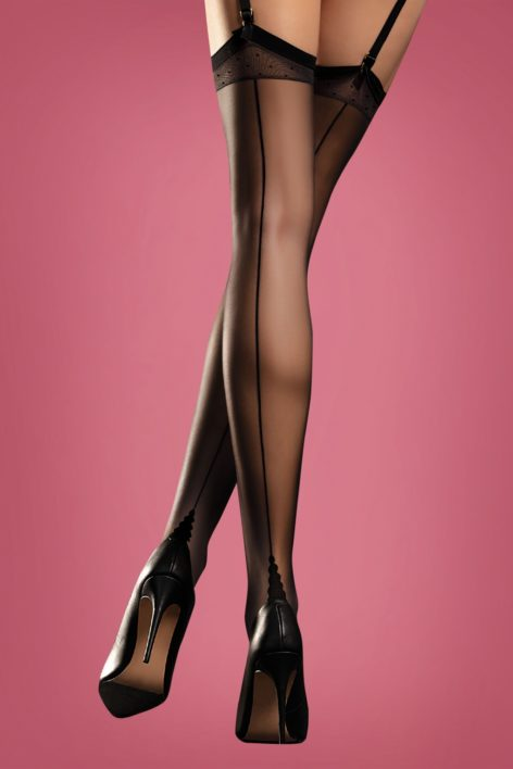 Diva Sensual Stockings in Black