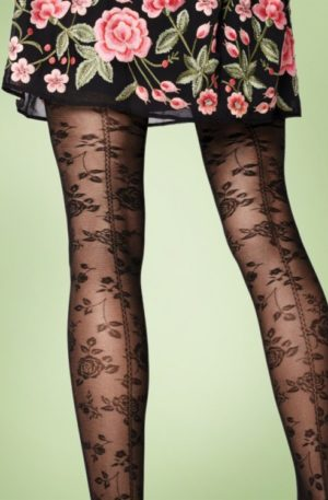 Frida Tights in Black