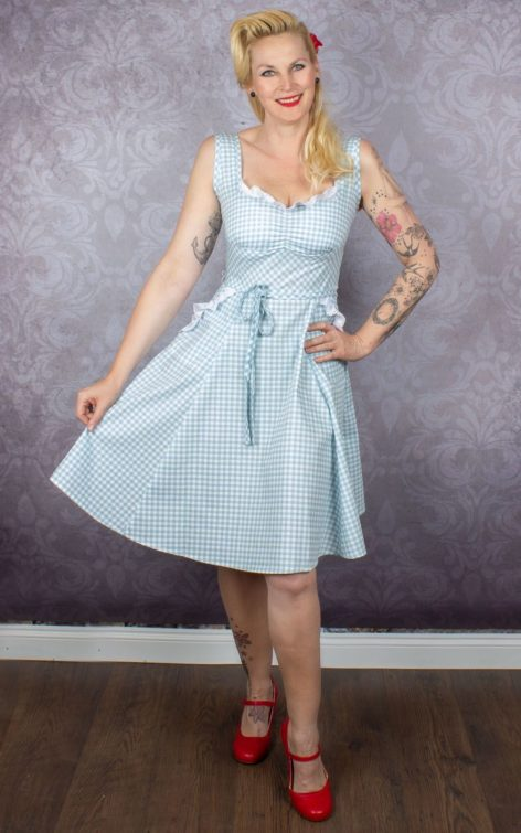 Heart of Haute - Diner Kleid Sadie Vichy von Rockabilly Rules