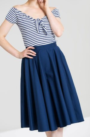 Hellbunny Swingrock Paula, navy von Rockabilly Rules