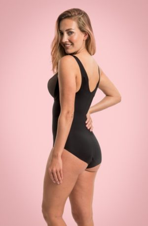 Maxi Sexy Body Briefer in Black