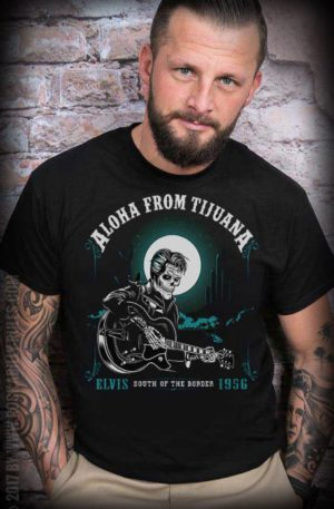 Mexican Mob – T-Shirt Aloha from Tijuana von Rockabilly Rules