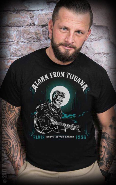 Mexican Mob - T-Shirt Aloha from Tijuana von Rockabilly Rules
