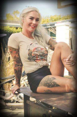 Mischief Made – Damen-T-Shirt Built for Speed von Rockabilly Rules