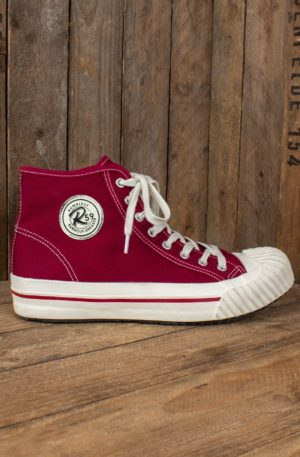 Rumble59 – Burnout-Sneaker – bordeaux von Rockabilly Rules