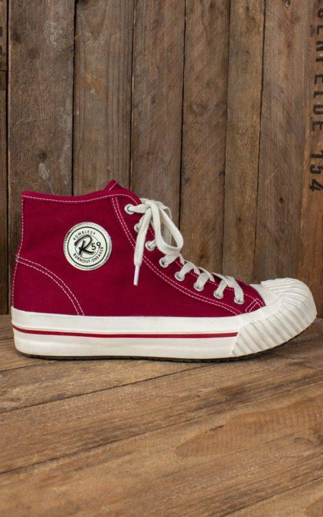 Rumble59 - Burnout-Sneaker - bordeaux von Rockabilly Rules