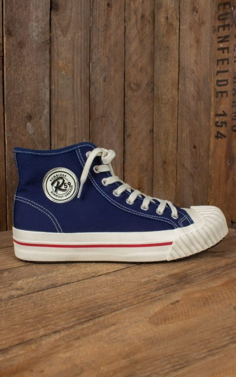 Rumble59 - Burnout-Sneaker - marineblau von Rockabilly Rules