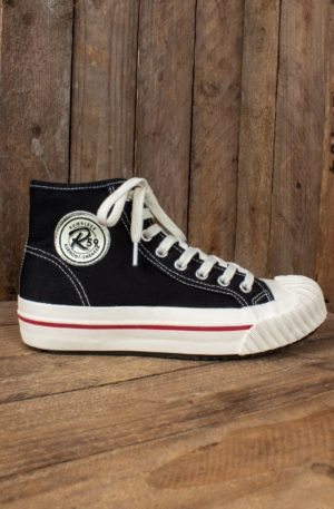 Rumble59 – Burnout-Sneaker – schwarz von Rockabilly Rules