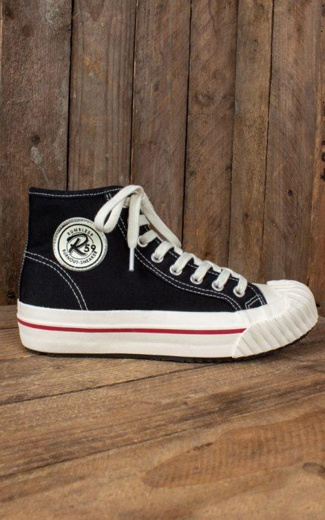 Rumble59 - Burnout-Sneaker - schwarz von Rockabilly Rules