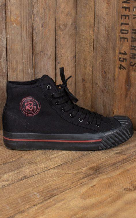 Rumble59 - Burnout-Sneaker - schwarz/schwarz von Rockabilly Rules