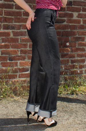 Rumble59 Denim – Black Marlene Jeans von Rockabilly Rules