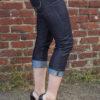 Rumble59 Denim - Ladies Capri Jeans von Rockabilly Rules