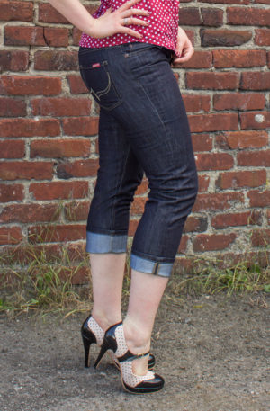 Rumble59 Denim – Ladies Capri Jeans von Rockabilly Rules