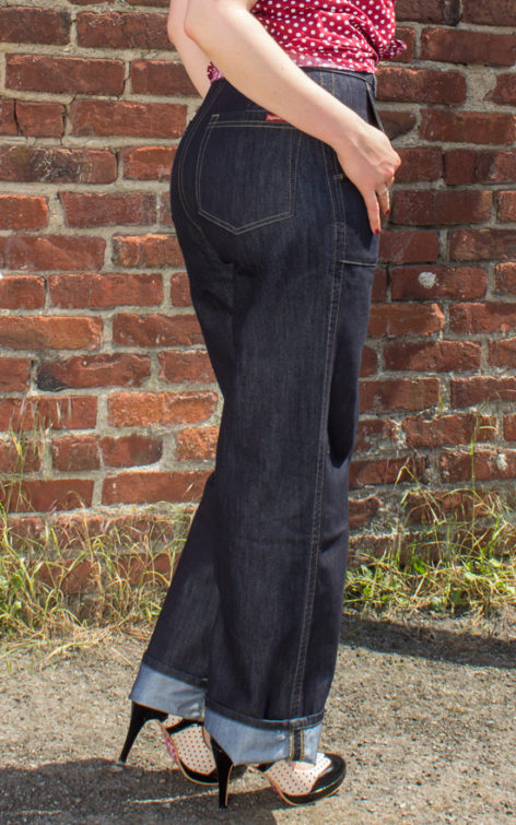 Rumble59 Denim - Marlene Jeans von Rockabilly Rules