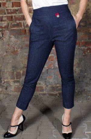 Rumble59 Ladies Denim – 7/8 Pencil Pants | Bleistifthose von Rockabilly Rules