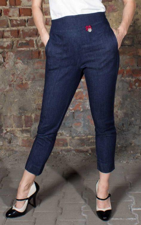 Rumble59 Ladies Denim - 7/8 Pencil Pants | Bleistifthose von Rockabilly Rules