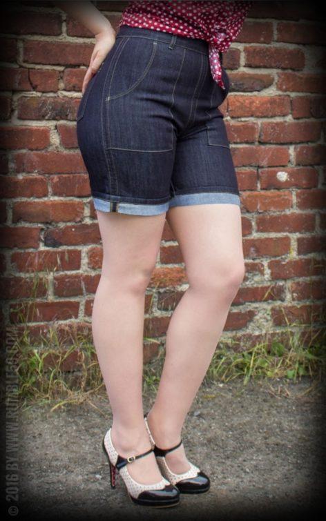 Rumble59 Ladies Denim - Hotpants von Rockabilly Rules