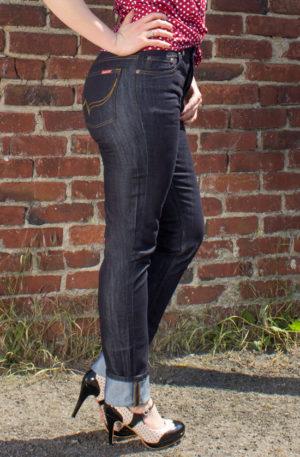 Rumble59 Ladies Denim – Marilyns' Curves – Slim Fit von Rockabilly Rules