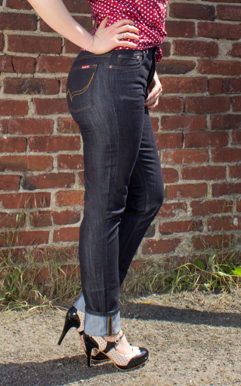 Rumble59 Ladies Denim - Marilyns' Curves - Slim Fit von Rockabilly Rules